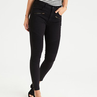 AEO Denim X Hi-Rise Jegging, Onyx Black