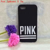 Victoria/'s Secret PINK Luxe Soft Rubber Stripe Case Covers For iphone 4 4g 4s/5 5g 5s Free shipping with packing-in Phone Bags & Cases from Phones & Telecommunications on Aliexpress.com | Alibaba Group
