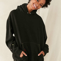 Urban Renewal Recycled Embroidered Space Hoodie Sweatshirt | Urban Outfitters