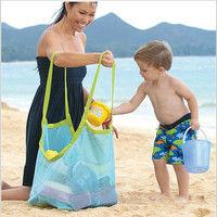 Newest Enduring Baby Children Beach Mesh Bag Children Beach Toys Clothes Towel Bag Baby Toy Collection Nappy Mother Bag