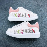 Alexander Mcqueen Oversized Sneakers White/Pink Reference #104