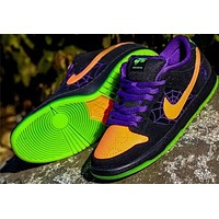 "Nike SB Dunk Low ""Night of Mischief"" Sports Running Shoes"