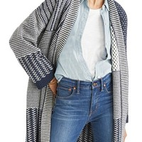 Madewell Patchwork Collage Cardigan | Nordstrom