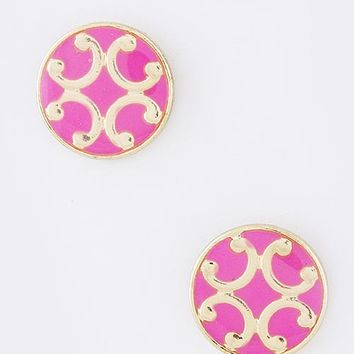 Madison Filigree Stud Earrings