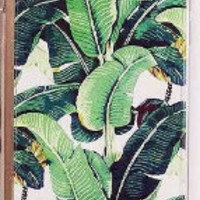Tropical Bananas & Leaves  Hybrid TPU + PC Cover For iPhone 5 5s 6 6plus  Case