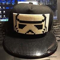 Star Wars Brick Blocks Snapbacks