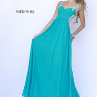 Sherri Hill 5202 Teal 10