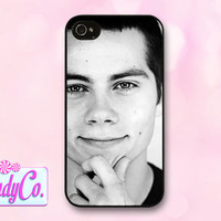 Phone case featuring Dylan O' Brien from Teen Wolf. Available for iPhone 4, 4s, 5, 5s, + Samsung Galaxy S3 or S4. Cute gift!