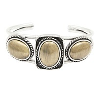 The Amiga Cuff - Silver | Vanessa Mooney Jewelry