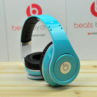 Monster Beats by Dr. Dre headphone headset,Dj studio ,SKY BLUE