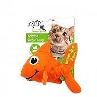 All For Paws Green Rush Canvas Goldfish - Infused with Catnip