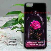 Beauty And The Beast Cover Case Best Quality For iPhone 7/7 Plus