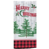 Terry Towel - Camp Christmas