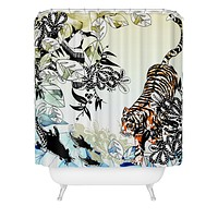 Aimee St Hill Tiger Tiger Shower Curtain