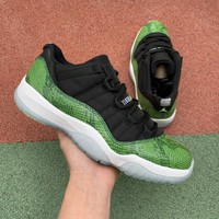 Air Jordan 11 Green Snakeskin