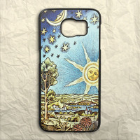 Vintage Astronomy Painting Samsung Galaxy S6 Case