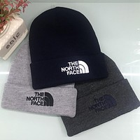 The North Face Autumn Winter Popular Men Women Warmer Embroidery Letter Knit Hat Cap