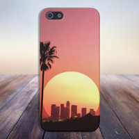 Sunset over Los Angeles Case for iPhone 6 6+ iPhone 5 5S 5C iPhone 4 4S and Samsung Galaxy S5 S4 & S3