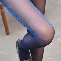 Sexy Women's Sexy Polyamide Glossy Ultrathin Silk Stockings Panty Hose with Hip Up Full Support Bright wire Pantyhose