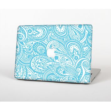 """The Light Blue Paisley Floral Pattern V3 Skin for the Apple MacBook Air 13"""""""