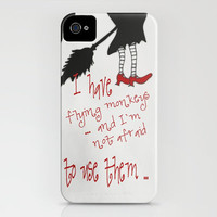 ***WIZARD OF OZ***  Funny Quote iPhone & iPod Case by Monika Strigel