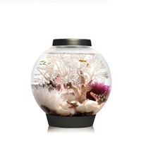 Baby biOrb Aquarium with LED Light, Black, 4 Gallons