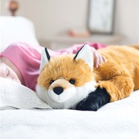 Fox Body Pillow in Pillows and Throws