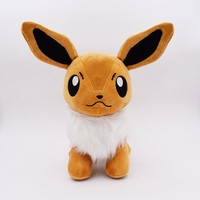 1pcs 25cm Hot Anime Stuffed Toy Cute Evoli Eevee Plush Toy Kids Doll FREE SHIPPING