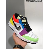 Nike Air Jordan 1 low AJ1 cheap fashion Mens and womens sports shoes