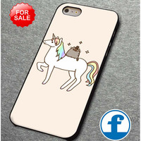 Pusheen Cat With Unicorn (2) for iphone, ipod, samsung galaxy, HTC and Nexus Phone Case