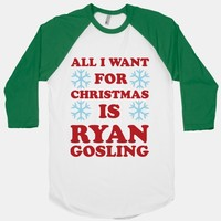 All I Want for Christmas is Ryan Gosling
