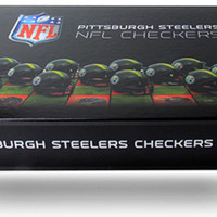 NFL Pittsburgh Steelers Checkers Game Set