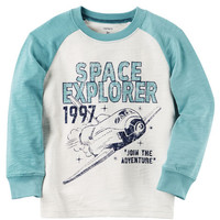 Long-Sleeve Space Explorer Raglan Tee