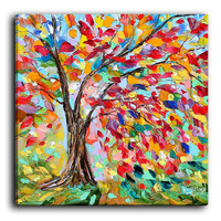 Canvas Wall Art by DiaNoche Designs, Poetry of a Tree