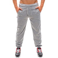 2017 Mens Casual Jogger Dance Sportwear Baggy Harem Pants Slacks Comfy Loose Medium Waist Casual Trousers Sweatpants