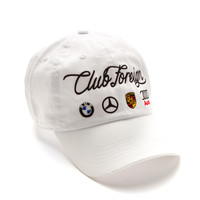 Club Foreign German Series Hat White