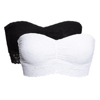 2-pack Bandeau Bras - from H&M