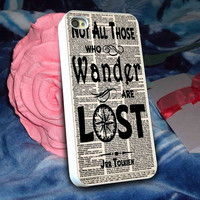 not all those who wander are lost tolkien 2   -  iPhone 6, iPhone 6+, samsung note 4, samsung note 3,iPhone 5C Case, iPhone 5/5S Case, iPhone 4/4S Case, Durable Hard Case