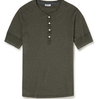 Schiesser - Karl Cotton-Jersey Henley T-Shirt | MR PORTER