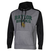 Baylor Bears Fast Slant Raglan Performance Hoodie – Gray/Black
