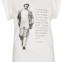 James Dean Tee By Tee And Cake - Apparel Brands - Designers - Topshop USA