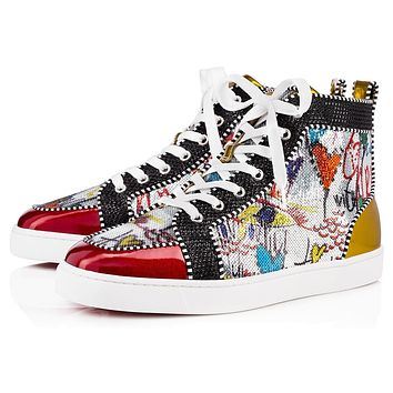 Christian Louboutin CL Men's 2020 New Fashion Casual Shoes Sneaker Sport Running Shoes
