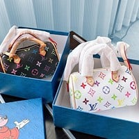 LV color-printed Nano Turenne bag The perfect mini version of the original Turenne bag