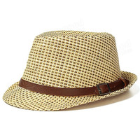 Children Jazz Hat Cool Straw Beach Sun Cap