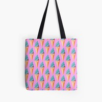 'Origami ice cream coone ' Tote Bag by Manitarka