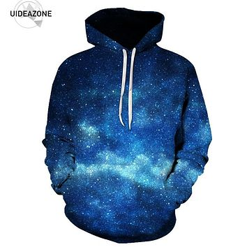 Space Galaxy Hoodies Men 2017 New Fashion Autumn Winter Sportswear Hooded Hoody Casual Pullover 3D Hoodie Sweatshirt Dropship