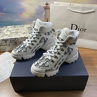 dior fashion men womens casual running sport shoes sneakers slipper sandals high heels shoes 383