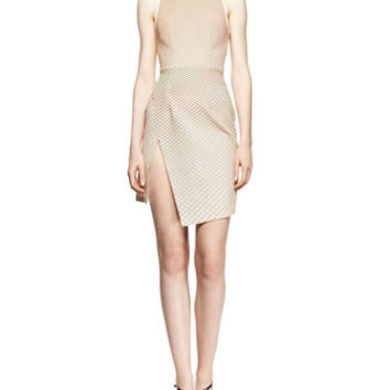 Dion Lee Sleeveless Cycle Wrap Day Dress
