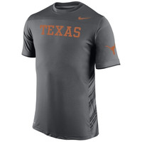 Texas Longhorns Nike Speed Top Performance T-Shirt – Anthracite