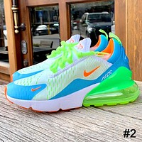 AIR MAX 270 NIKE tide brand female half palm cushion sports shoes #2